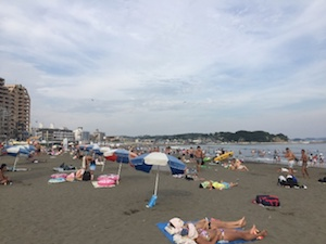 Enoshima, most convenient beaches from Tokyo