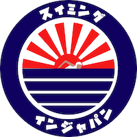 logo swimming in japan